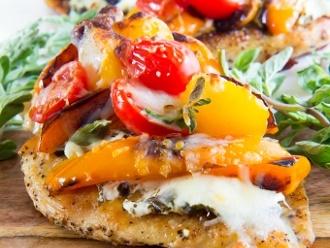 Pizza Huhn