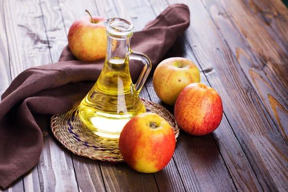 Äpfel und Essig