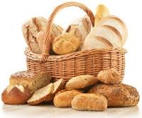 Korb voller Brote