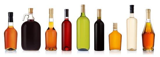 Flaschen Alkohol