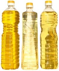 Flaschen Pflanzenöl