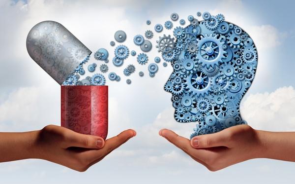 Gehirnmedizin-Konzept