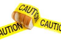 Brot Vorsicht
