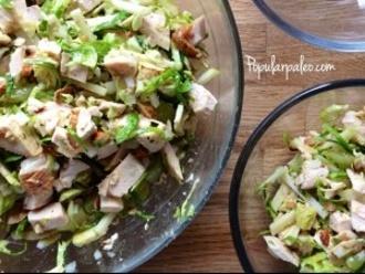 Hähnchen-Rosenkohl-Salat