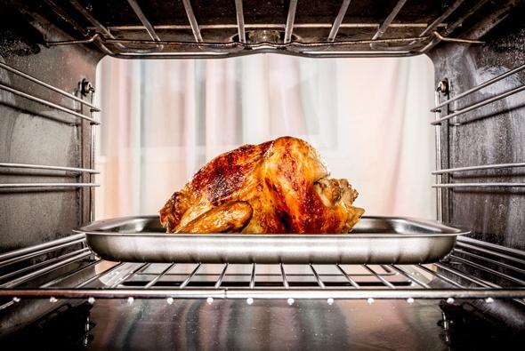 Hühnerbraten im Ofen