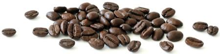 Kaffeebohnen horizontal verteilen