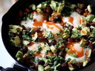 Cowboy-Frühstücksbratpfanne
