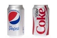 Diät-Cola und Diät-Pepsi