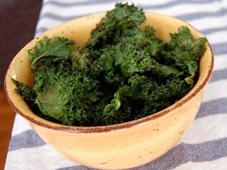Einfache Grünkohl-Chips