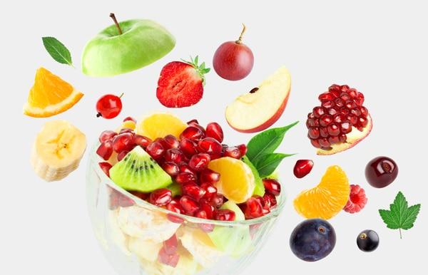 Fliegende Frucht