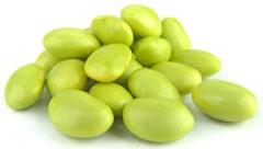 Frische Sojabohnen