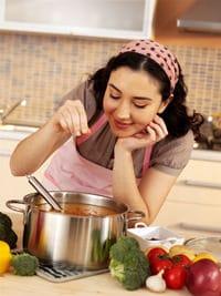 Hausfrau Kochen