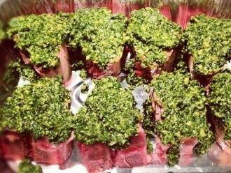 Lammkoteletts mit frischem Paleo Pesto