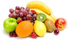 Mischung aus verschiedenen Früchten