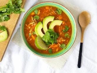 Paleo Chicken Tortilla Suppe