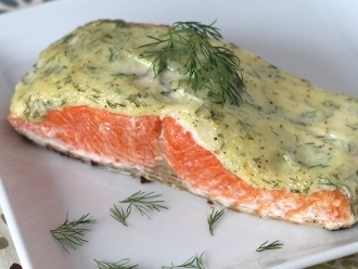 Paleo cremiger Dilllachs