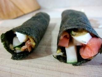 Paleo Sushi zum Mittagessen