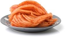 Teller mit Kimchi