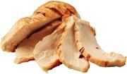 Geschnittene Hühnerbrust