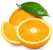 In Scheiben geschnittene Orange