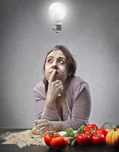 Fragen über Essen