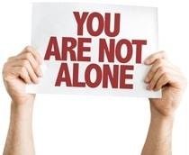 Du bist nicht allein Zeichen